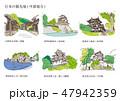 日本の観光地(中部地方) 47942359