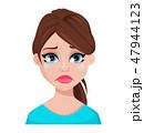 女 女の人 女性のイラスト 47944123