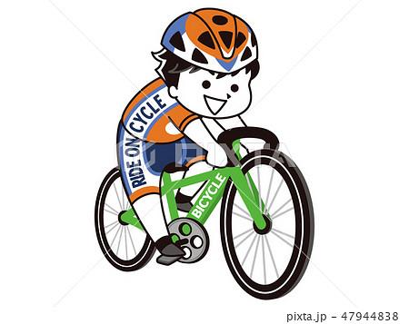 自転車競技選手の男性 47944838