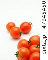 ミニトマト トマト 野菜の写真 47945450