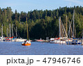 ヨット 船 船舶の写真 47946746