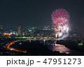 葛飾納涼花火大会 花火大会 花火の写真 47951273