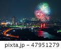 葛飾納涼花火大会 花火大会 花火の写真 47951279