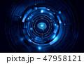人工知能 AI テクノロジーのイラスト 47958121