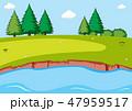 A simple nature scene 47959517