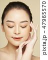 女性 ファンデーション 保湿の写真 47965570