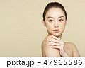 女性 美容 ファンデーションの写真 47965586