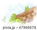 高尾山薬王院 水彩画風 47966678