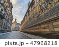 Dresden Germany, skyline at Procession of Princes 47968218