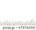 景色 風景 街のイラスト 47974050
