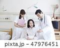 看護師 患者 医師の写真 47976451