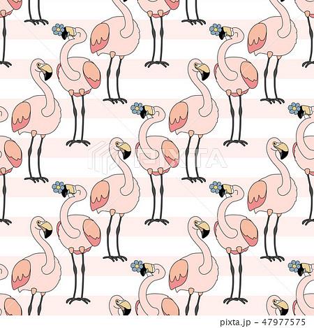 vector animals seamless pattern 47977575