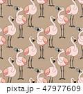 vector animals seamless pattern 47977609