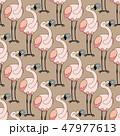 vector animals seamless pattern 47977613