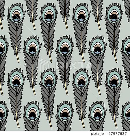 vector animals seamless pattern 47977627