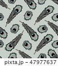 vector animals seamless pattern 47977637