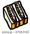 カツサンド 47983302
