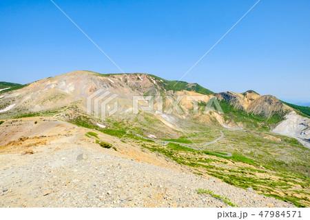 磐梯吾妻スカイライン・浄土平の風景 47984571