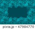 ブルー 青色 トロピカルのイラスト 47984770