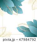 背景 お花 フラワーのイラスト 47984792