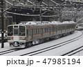 乗り物 上越線 列車の写真 47985194