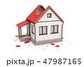 住宅 住居 家のイラスト 47987165
