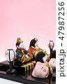雛人形 47987256