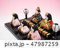 雛人形 47987259