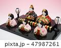 雛人形 47987261