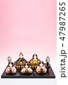 雛人形 47987265