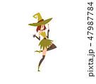 まほうつかい 魔術 魔法のイラスト 47987784
