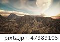 景色 風景 山のイラスト 47989105