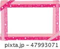 フレーム 桜 春のイラスト 47993071