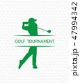 Golf invitation flyer template graphic design 47994342