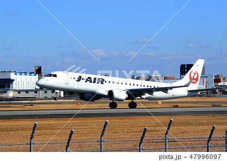 大阪国際空港 飛行機 離陸 47996097