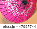 傘 赤 赤色の写真 47997744