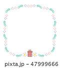 プレゼント フレーム イラスト  47999666