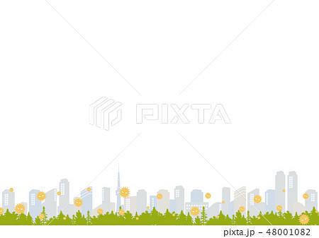 花粉 都市背景 48001082