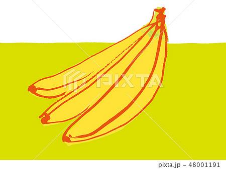 バナナ 水彩画 48001191