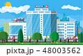 Hospital building, medical icon. 48003562