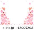 桜 花 ベクターのイラスト 48005208