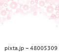 桜 花 ベクターのイラスト 48005309