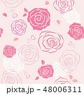 ばら 花 ベクターのイラスト 48006311