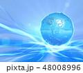 地球 惑星 水のイラスト 48008996
