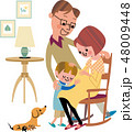 新しい家族の誕生 48009448