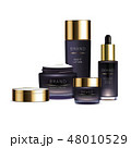 化粧 化粧品 パープルのイラスト 48010529