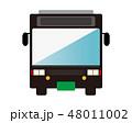バス 路線バス 自動車のイラスト 48011002