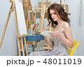 画伯 芸術家 アーティストの写真 48011019
