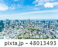 東京都 都市風景 東京タワーの写真 48013493