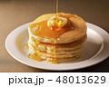 ホットケーキ パンケーキ ケーキの写真 48013629